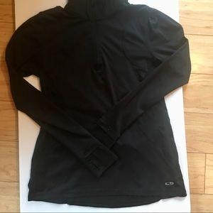 Black Champion Zip Front Activewear Jacket Size S